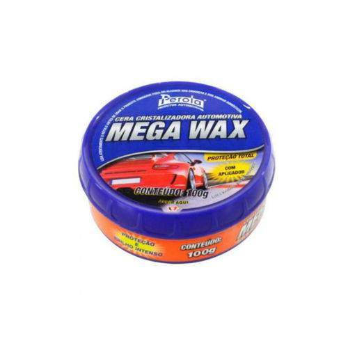 Tudo sobre 'Cera de Carnaúba Mega Wax 100g - Pérola'