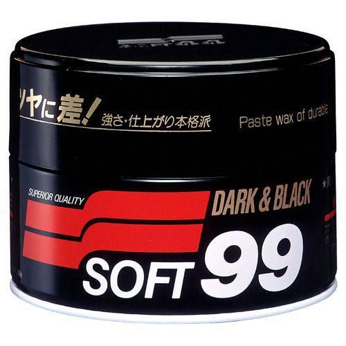 Cera de Carnaúba Premium - 300g Soft99 Dark & Black Paste Wax