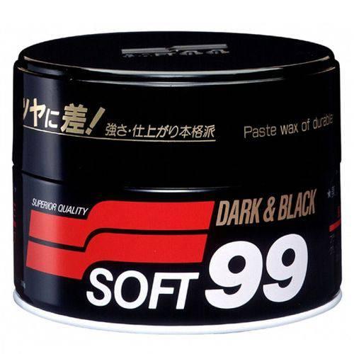 Cera de Carnaúba Premium 300g Soft99 Dark e Black Paste Wa
