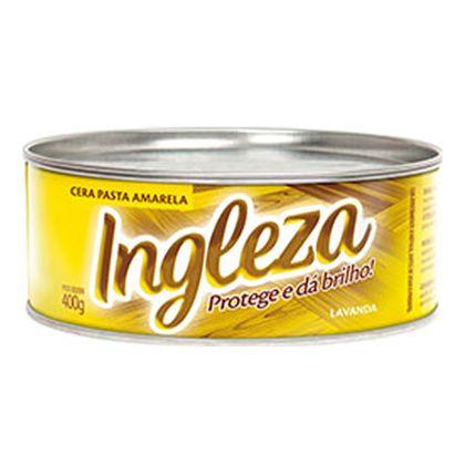 Tudo sobre 'Cera em Pasta Amarela 400g Ingleza'