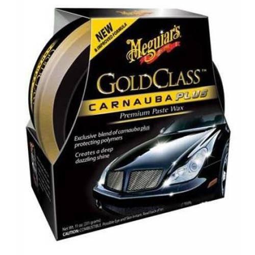 Tudo sobre 'Cera Gold Class Carnauba Meguiars Pasta - 311ml'