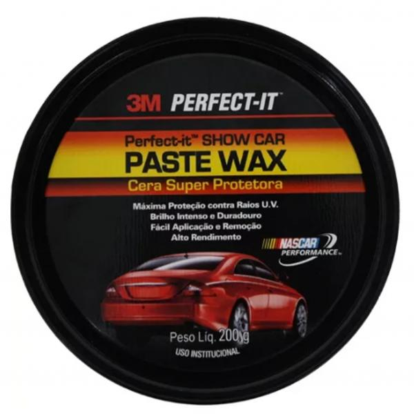 Cera Paste Wax 3m 200g Super Protetora.