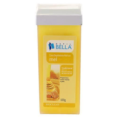 Tudo sobre 'Cera Roll-On Mel 100g Depilbella'