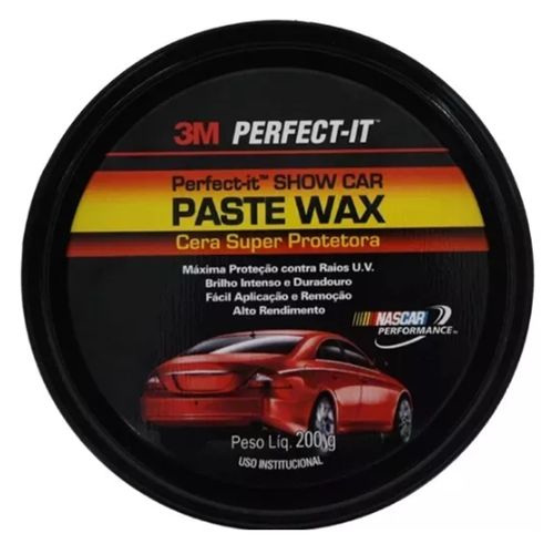 Cera Super Protetora Paste Wax 3m 200g