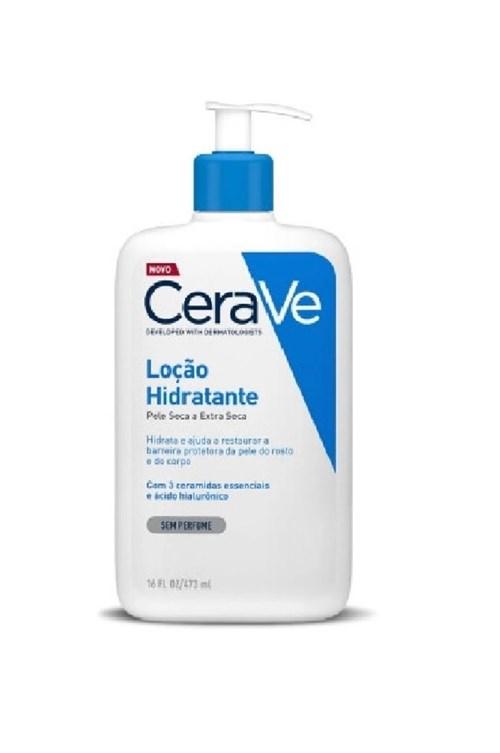 Cerave Loção Hidratante Pele Seca e Extra Seca 473Ml