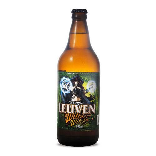 Cerveja Artesanal Leuven Witbier Witch 600ml