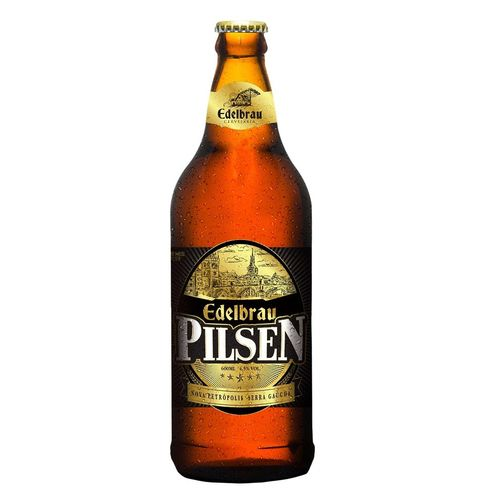 Cerveja Artesanal Pilsen Edelbrau 600ml