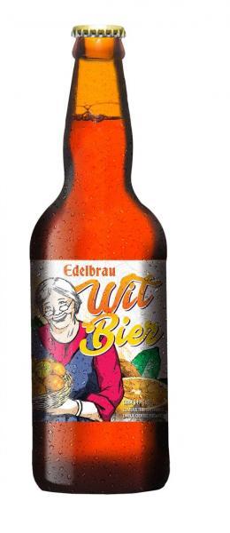 Cerveja Artesanal WITBIER Edelbrau 600ml