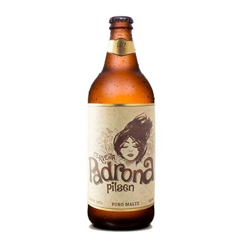 Cerveja ARZ Padrona Pilsen 600ml