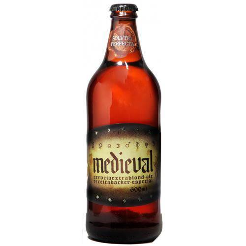 Cerveja Backer Medieval 600 Ml