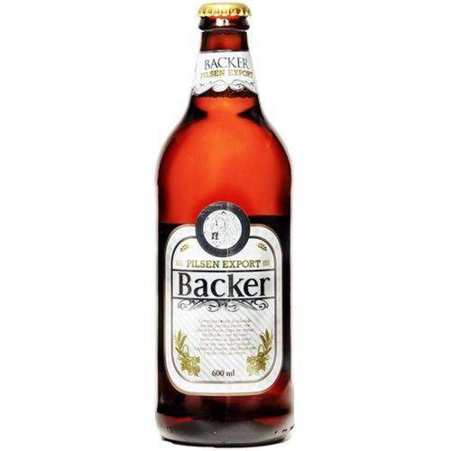 Cerveja Backer Pilsen Export 600 Ml