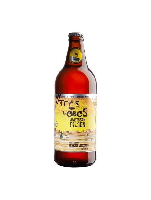 Cerveja Backer Três Lobos American Pilsen 600ml