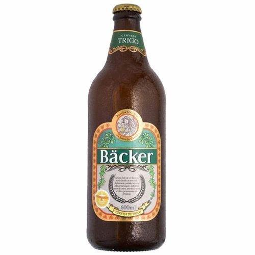 Cerveja Backer Trigo Garrafa 600 Ml