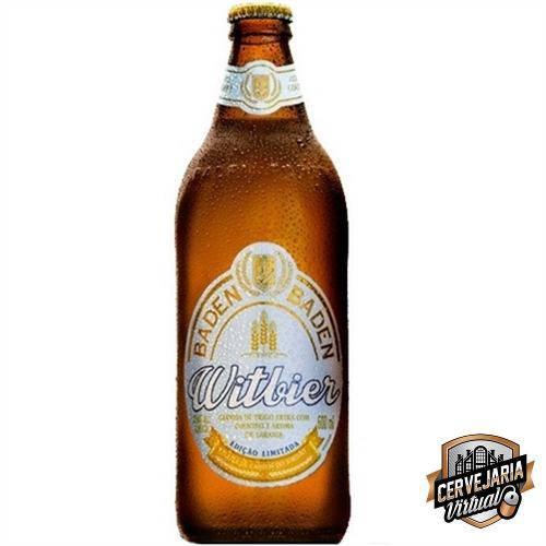Cerveja Baden Baden WitBier - 600ml - OFF (venc. 05/5)
