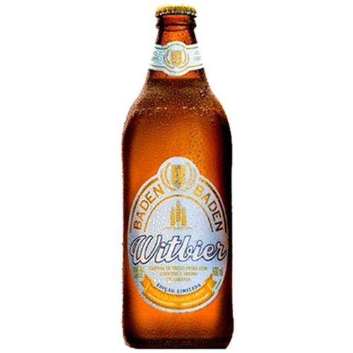 Cerveja Baden Baden Witbier Garrafa 600 Ml