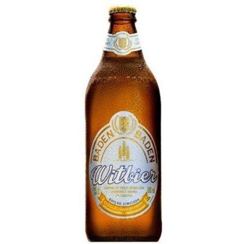 Cerveja Baden Witbier 600 Ml