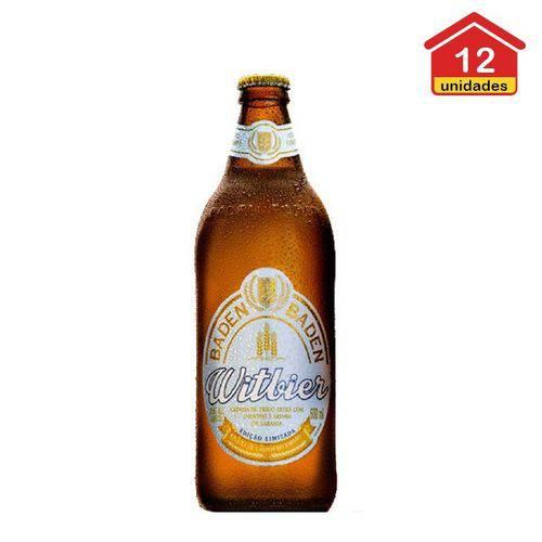 Cerveja Baden Witbier 600ml C/ 12