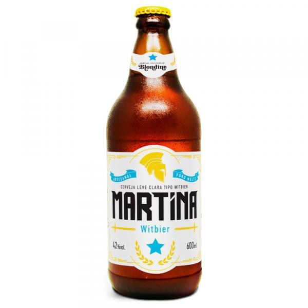 Cerveja Blondine Martina Witbier 600ml