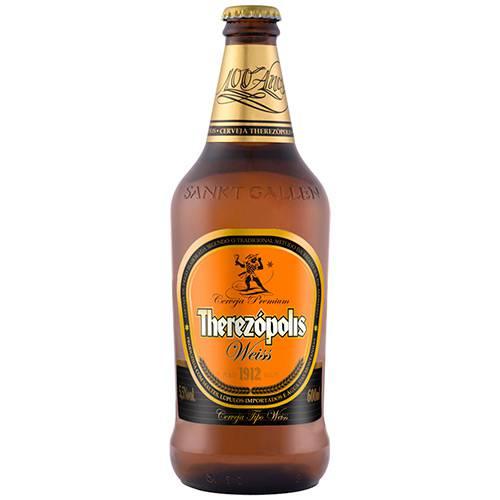 Tudo sobre 'Cerveja Brasileira de Trigo Puro Malte Therezópolis Weiss 600ml'