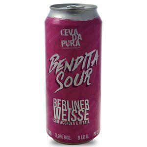 Tudo sobre 'Cerveja Cevada Pura Bendita Sour Lata 473ml'
