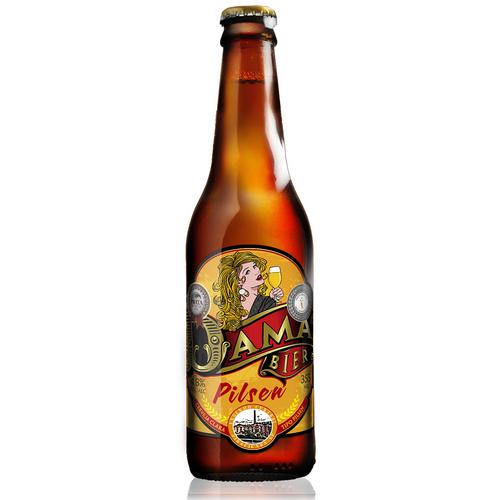 Cerveja Dama Bier Pilsen 355ml
