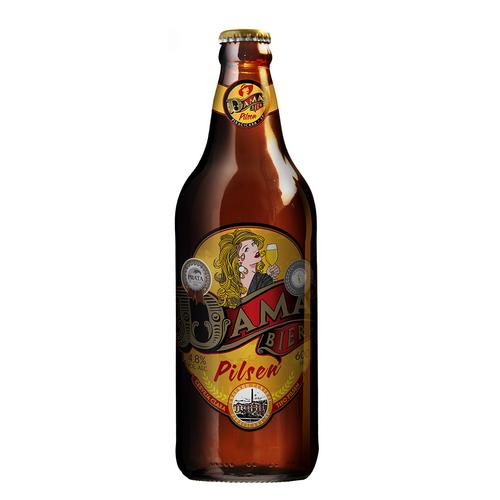 Cerveja Dama Bier Pilsen 600ml