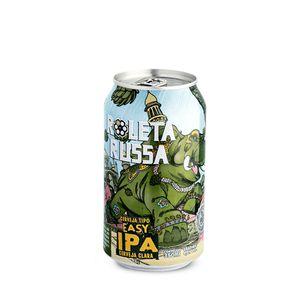 Tudo sobre 'Cerveja Roleta Russa Easy IPA Lata 350ml'