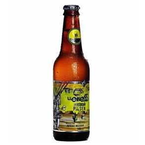 Cerveja Três Lobos American Pilsen - 355ml