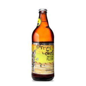 Cerveja Três Lobos American Pilsen 600ml