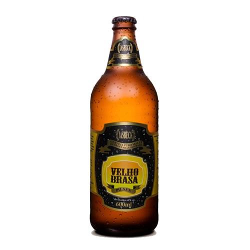 Cerveja Velho Brasa Pilsen Iasbeck 600ml