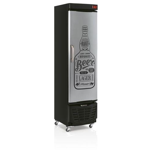 Tudo sobre 'Cervejeira GRBA230EGW Gelopar Cervejeira Slim 228 Litros Porta Tipo Inox Adesivada 110v'