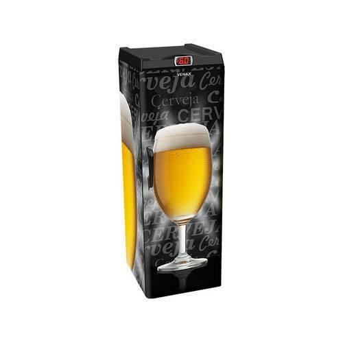 Tudo sobre 'Cervejeira Venax Expm 200L Copo Taça Preta 220V'
