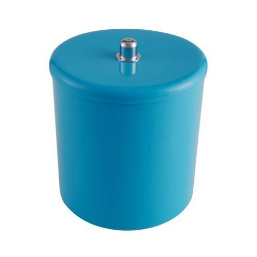 Cesto Multiuso Azul com Puxador Cromado - Astra
