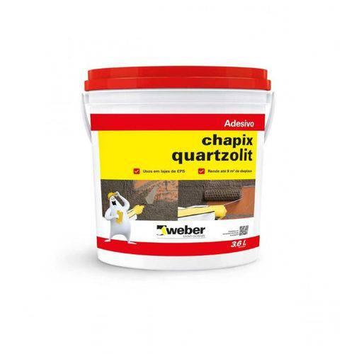 Tudo sobre 'Chapix Pva Quartzolit 3.6lt'