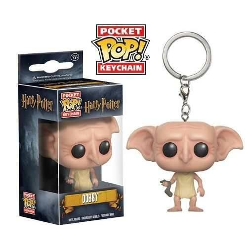 Chaveiro Dobby - Harry Potter - Pocket Pop! Funko