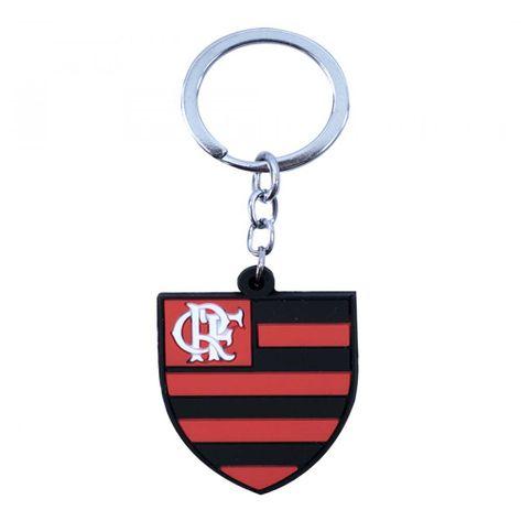 Tudo sobre 'Chaveiro Flamengo Escudo de Borracha UN'