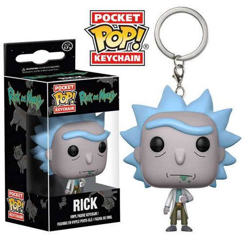 Tudo sobre 'Chaveiro Rick - Funko Pop Pocket Rick And Morty'