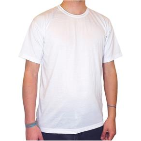 Camiseta para Sublimação 100% Poliéster - EG - Branca