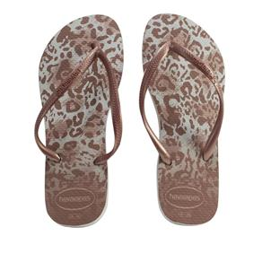 Chinelo Feminino Havaianas Slim Estampa Animal