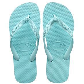 Chinelo Havaianas Feminino Top - Tamanho 33/34 - Ice Blue
