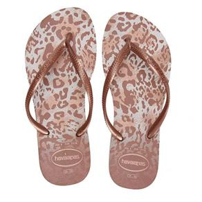 Chinelo Havaianas Slim Animals N - 33 - BEGE