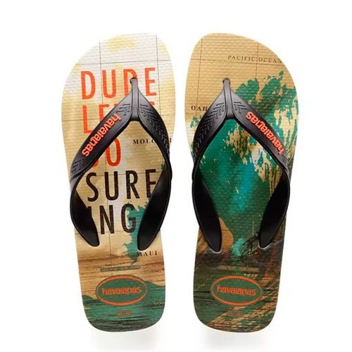 Chinelo Havaianas Surf Preto