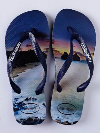 Tudo sobre 'Chinelo Masculino Havaianas Hype Azul Marinho'