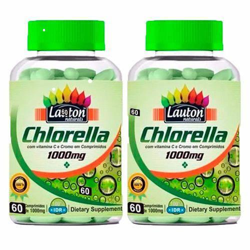 Tudo sobre 'Chlorella 1000mg - 2 Un de 60 Comprimidos - Lauton'