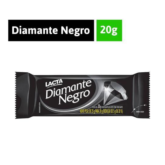 Tudo sobre 'Chocolate Diamante Negro Lacta 20g'