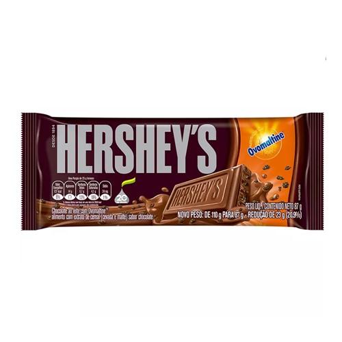 Tudo sobre 'Chocolate Hershey's Ovomaltine 87g'