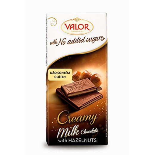 Chocolate Valor Creme de Avelã 100 G (ao Leite)