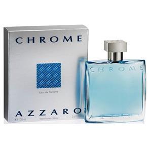Chrome Perfume Masculino Eau de Toilette Azzaro 100ml