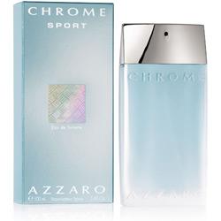 Chrome Sport Eau de Toilette Masculino 50ml - Azzaro