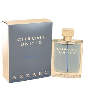 Perfume Masculino Chrome United Azzaro 100 Ml Eau de Toilette